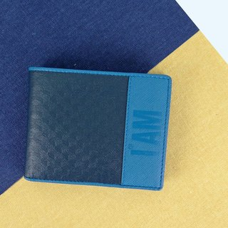 Free shipping I AM - XU WALLETS classic series CASHBACK leather short clip