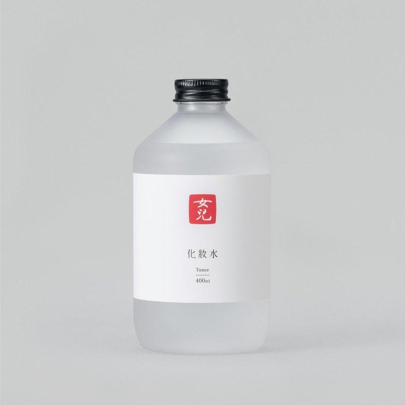 化妝水 400ml l 溫和配方、不含酒精、含天然絲瓜露