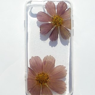 Anny's workshop hand-made Yahua phone protective shell for iphone 6, purple cosmos (transparent soft edge)