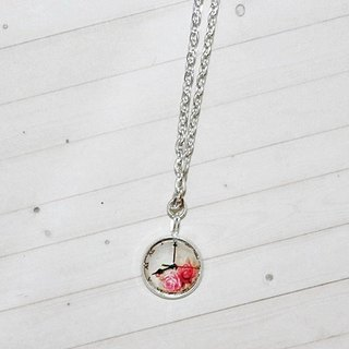 Time Gemstone Necklace <Rose Bell> => Limited X1