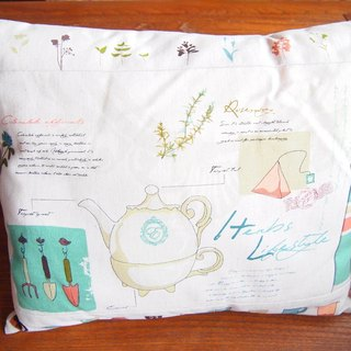 Tea Time Pillow (coffee)