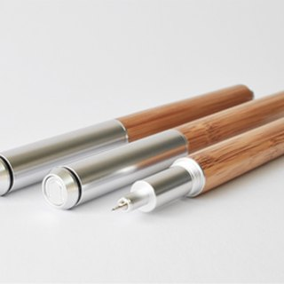 ECO Bamboo Series Writing Touch Dual-use Gel Pen Set