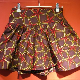 Post Free Shipping! Yang Ga YOUNGA African fabric shorts skirts