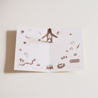 Bear Forest stereoscopic cards (with envelopes, stickers)