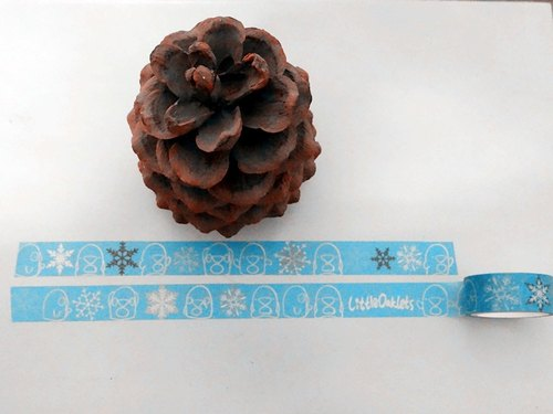 Oaklets paper tape snowflake articles