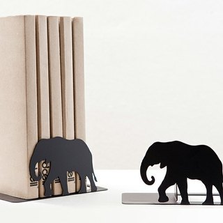 Jungle series bookends - Elephant