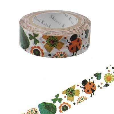 Shinzi Katoh Kato Shinji Illustration Masking Tape (Ladybug KS-MT-10011)
