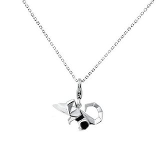 Alvin and the Chipmunks origami fairy Silver Necklace