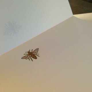 PAPIER A4 blank writing paper. Bee models