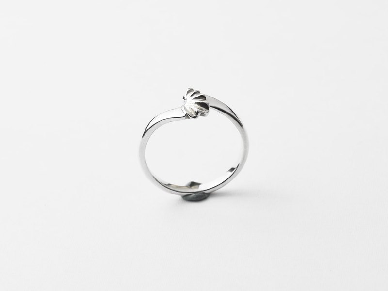 Flamenco (925 sterling silver ring) - C percent handmade jewelry