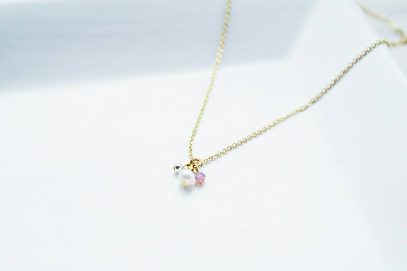 """Birthday Crystal"" u exclusive fine crystal clavicle chain birthday"