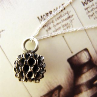 925 silver necklace small fruits