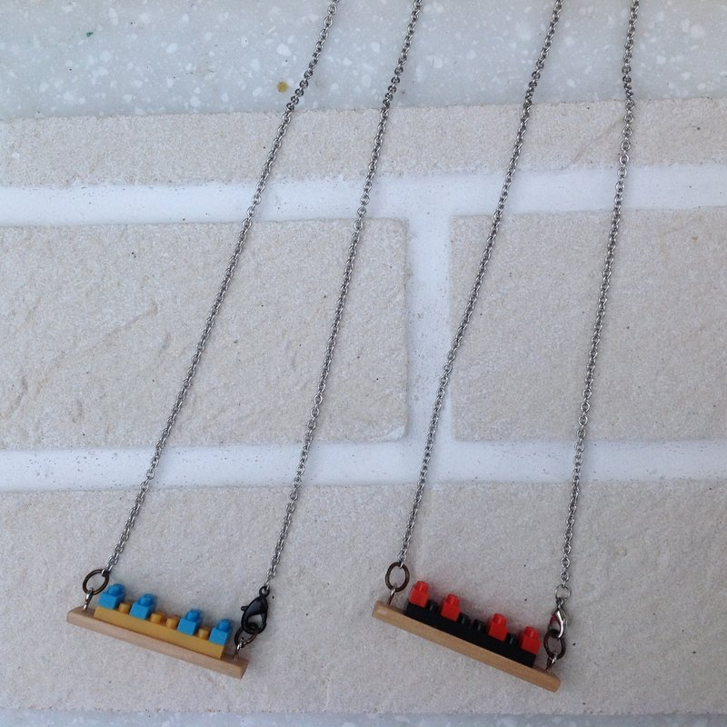 Skiff necklace ∞ building blocks