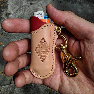 Leather Lighter Case - Leather Lighter Case
