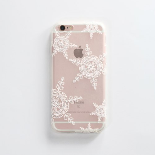 iPhone 6 / 6s Mobile Shell 4.7 inch [X'mas Winter Love Movement - Through the fog Snow] - WaKase Christmas gift