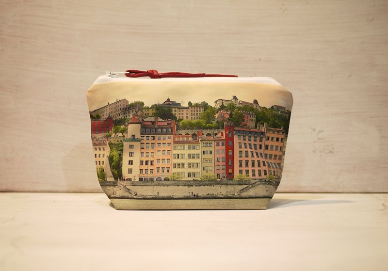 [Just travel] Dumpling-type cosmetic bag [shiny city]