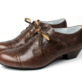 Coffee │ retro Oxford shoes