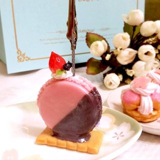 Hand-made Waltz - UFO Macaron card holder / Xie deck / photo folder