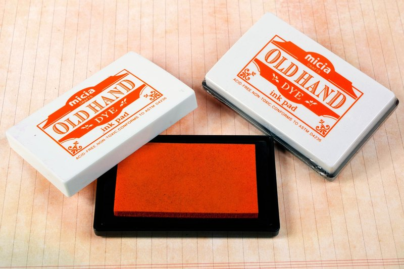 Dye ink pad - Orange