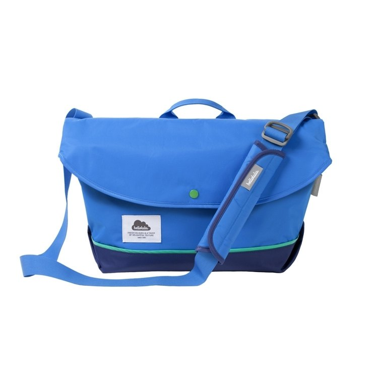 "Hellolulu-HAYDEN-Nylon 13 ""Laptop Bag (Blue)"