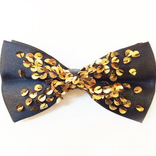 Gold sequin bow tie Bowtie