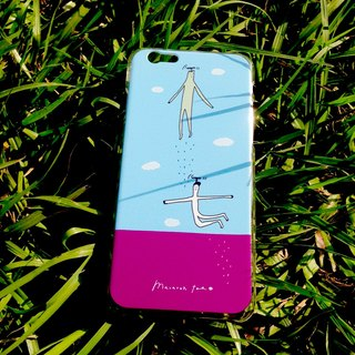 Flying Monsters | Hard iPhone Case
