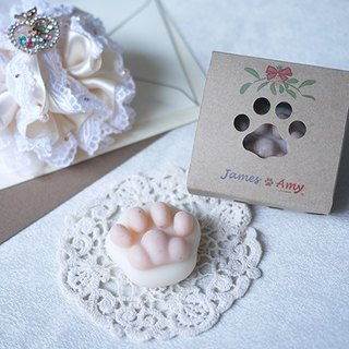 [Customized] MINI Cat Paw Soap – Pink Paw (Please Send Message)