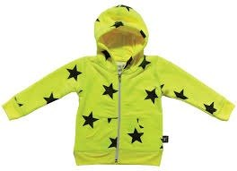 2014 autumn and winter NUNUNU star hooded jacket (中大童)