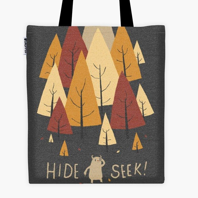 Filament - canvas bag - hide and seek