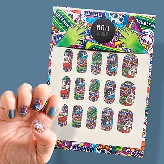Hey Cutie Candy Shop - nail sticker
