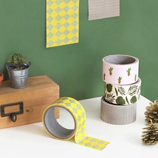 Iconic - Wide 5cm paper tape (single) - Diamond yellow, ICO83900