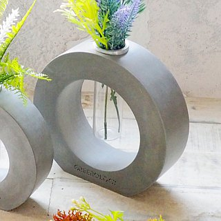 Greenology Ring Cement Test Tube Flower (Large)
