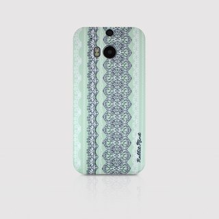 (Rabbit Mint) Mint Rabbit Phone Case - Thin He Leisi series - HTC One M8 (P00006)