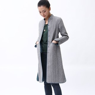 BUFU Classic design Chinese-style long heave long coat   O131005B