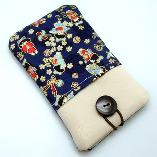 iPhone sleeve, iPhone pouch, Samsung Galaxy S8, Galaxy Note 8, cell phone, ipod classic touch sleeve (P-8)