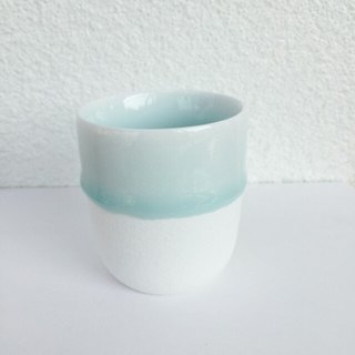 Summer Gifts - Baby blue in Melt - Mini Espresso Mug Cups of Girlfriends - 120ml Mini