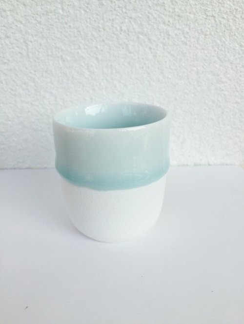 "Blessing series ""melt in baby blue - Mini Mug"" girlfriends small cup Christmas gift"