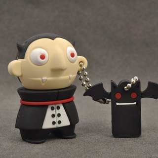 Vampire Dracula and little bat modeling flash drive 16GB