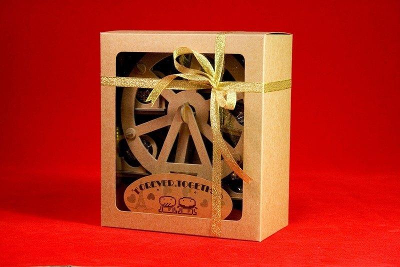 [巧克力遊樂園] 金莎摩天輪禮盒(不含金莎) / 情人節 聖誕節 畢業禮品 生日禮物 交換禮物首選