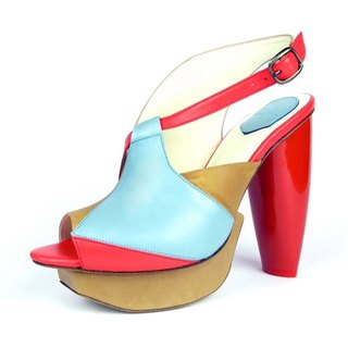 CLAVE [A Season for Murder] REVENGE- Blue -Platform shoes