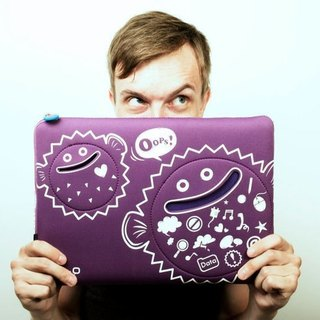 kedo Pufferfish Laptop Bag 氣球魚電腦袋