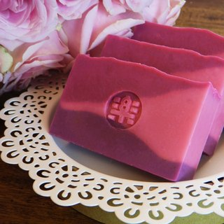 Rose hip oil soap