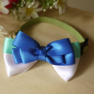 Safety x pet collar small fresh mint green cats and dogs / Collar / tie / Jojo ♥ cherry pudding Cherry Pudding ♥