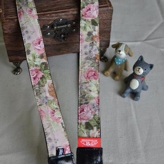 Pink Rose Couple Belt Camera Strap