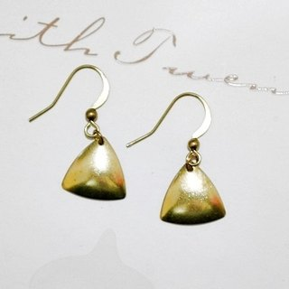 Pure brass * Delta Junction * _ hook earrings European and American fashion // //