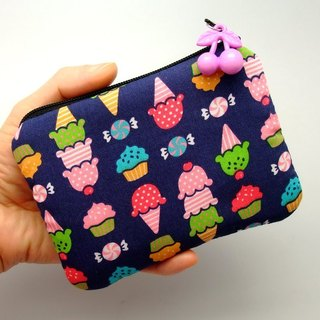 Zipper pouch / coin purse (padded) (ZS-39)