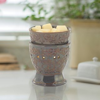 【VIVAWANG】 aromatherapy wax warm lamp - (flowers of victory). Aroma for a short time, safe, smoke-free, no flame.