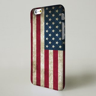 Vintage USA Flag 3D Full Wrap Phone Case, available for  iPhone 7, iPhone 7 Plus