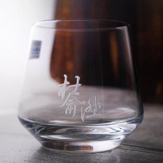 Chinese calligraphy style 310cc [MSA] 3 Chinese calligraphy SCHOTT ZWIESEL German Zeiss crystal cone crystal whiskey glass crystal glass engraving glass engraving