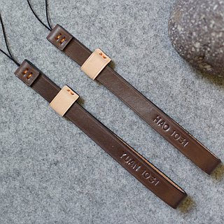 Handmade leather design leather digital camera strap slender metal-free version will not scratch the screen